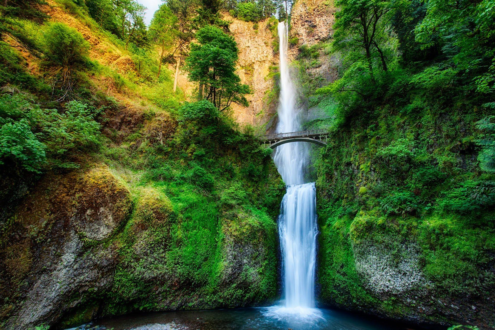 Portland Oregon Waterfall 2017