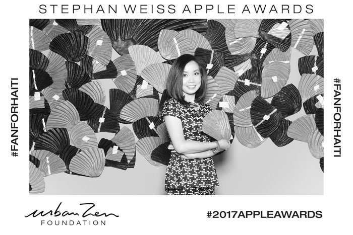 AngelaPan_StephanWeissAppleAwards_2017