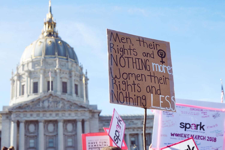 Photo from SF Women's March 2018 by  Sophia Liu