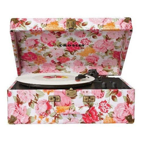 Crosley Cruiser Record Player- Floral