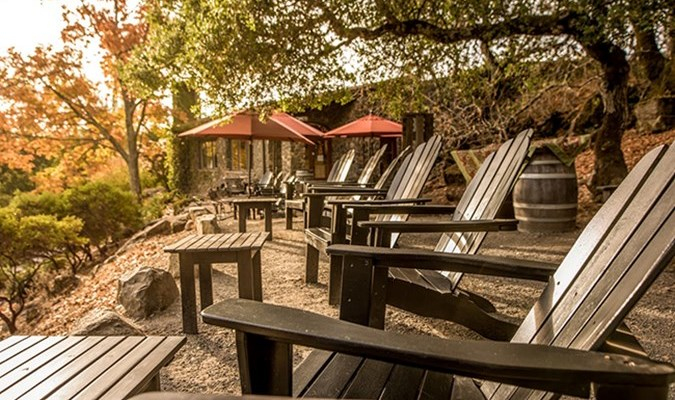 Go here for friendly service, generous pours, and a great outdoors patio. Where else can you sip Zins and sit out on Adirondack chairs? They even have a cheese and charcuterie plate if you some nibbles between your tastings.