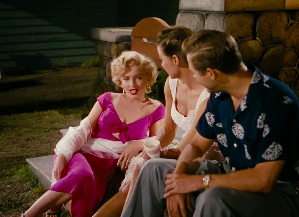 "Monroe as Rose Loomis the ""cunning adulteress"" in Niagara (1953)"