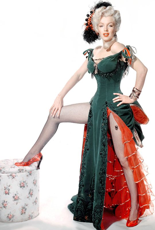 Green Velour Dress from River of No Return