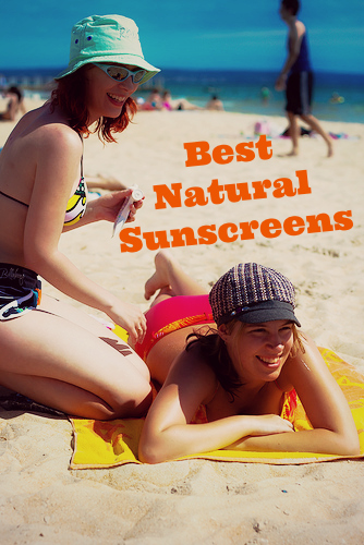 Find a great natural sunscreen that doesn't leave you white and pasty. The Blissful Miss List of Best Natural Sunscreens.