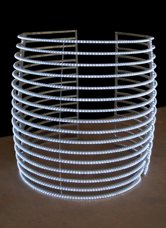 Light House, Aluminium and wire light, 2009