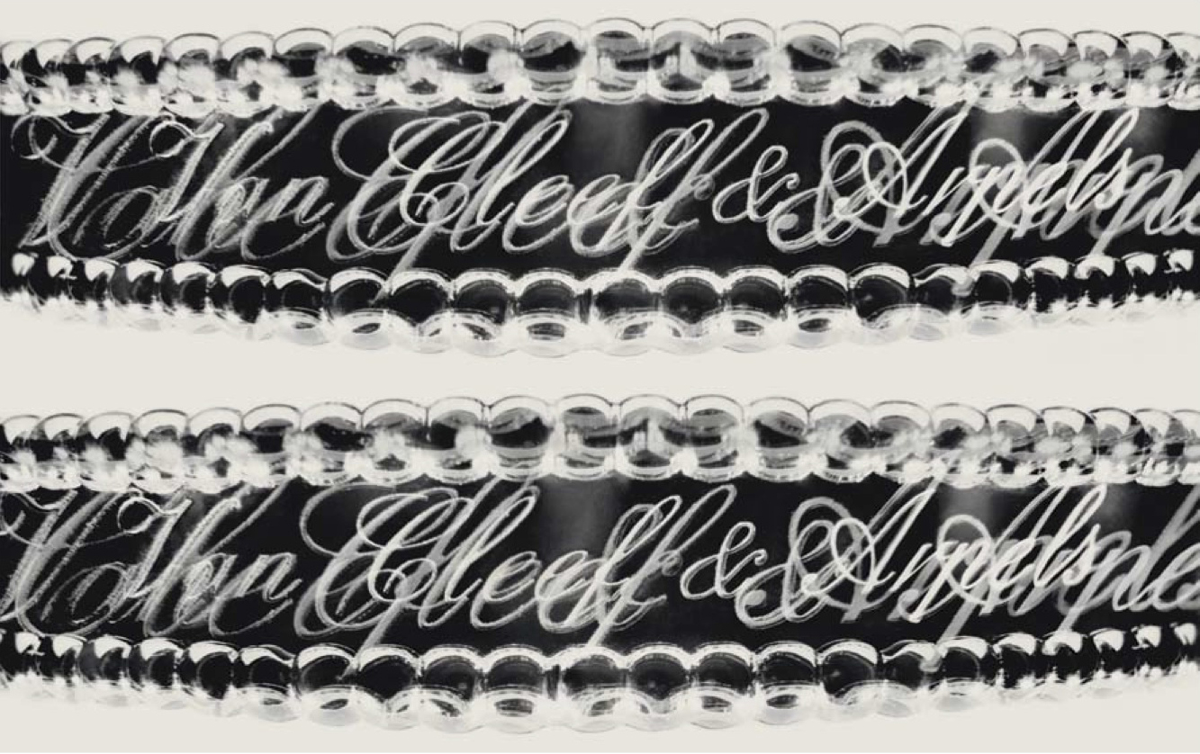 Van Cleef & Arpels  Collection Perlée. Photograph commissioned from Valérie Belin for ICONOfly, Diary of a Bracelet/ Journal d'un Bracelet, 2009