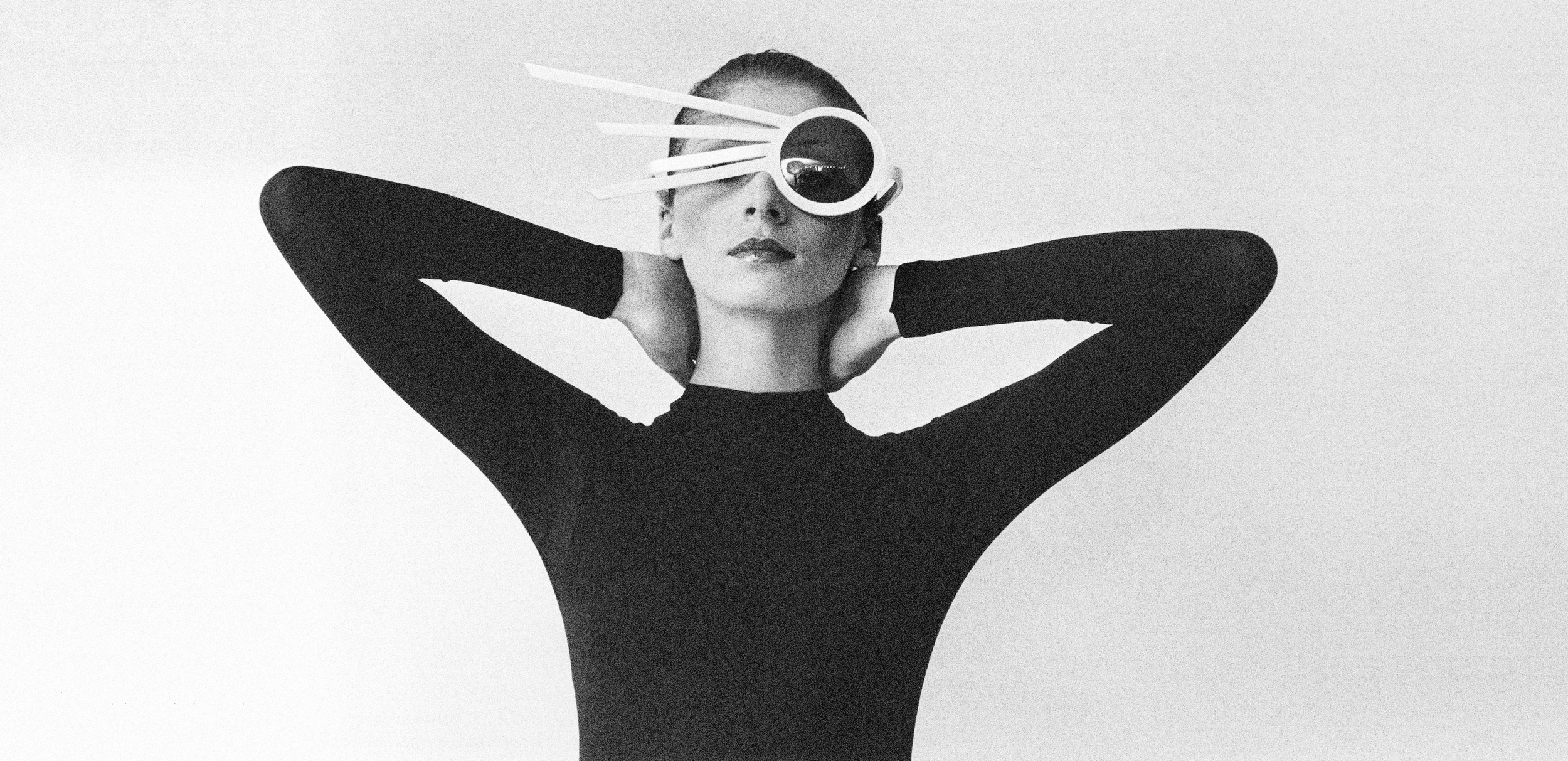 When the icon becomes the muse... Image courtesy Pierre Cardin in ICONOfly, Diary of Eyewear