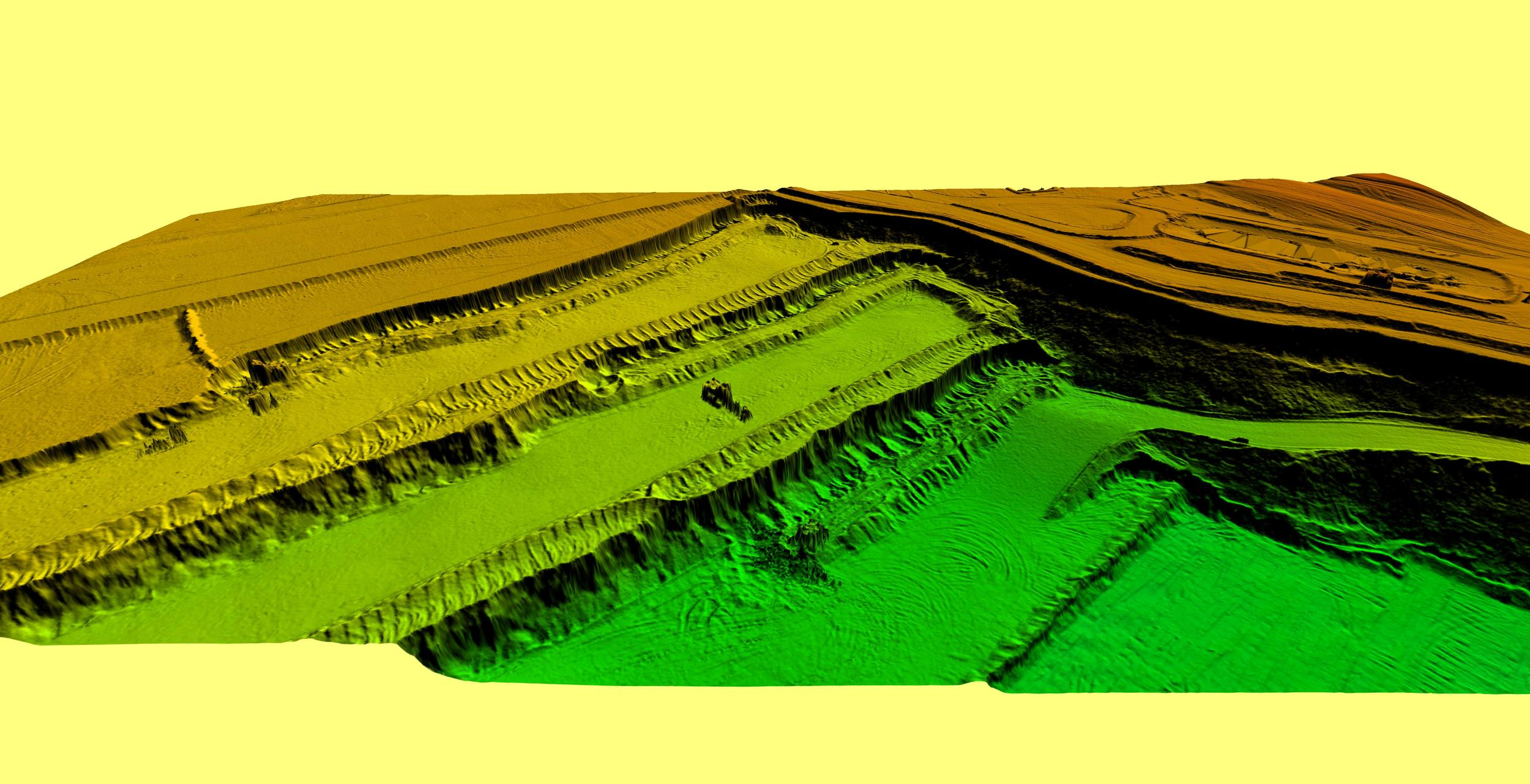 3d digital elevation model