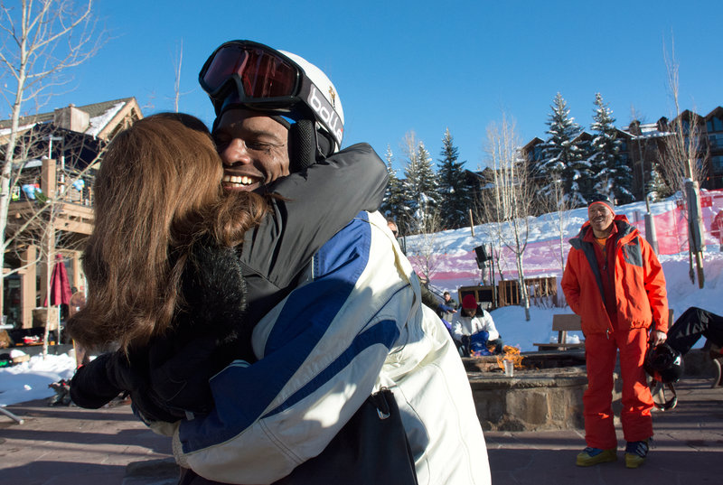 'The Black Summit' Draws African-American Skiers And Boarders To Aspen