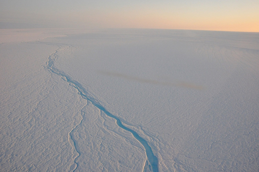 """Greenland's """"Sponge"""" Affected By Atmospheric Warming (Jan. 2016)"""