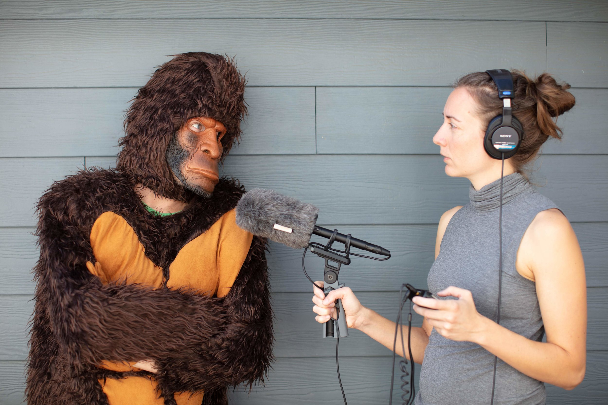 Laura Krantz spent two years searching for Bigfoot as part of her podcast, Wild Thing. (credit: Jake Holschuh/Foxtopus Ink)