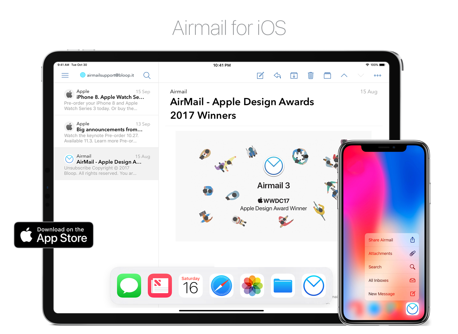 Airmail is a great mail app!