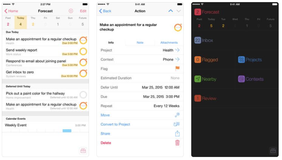 Omnifocus is the best project management app ever!