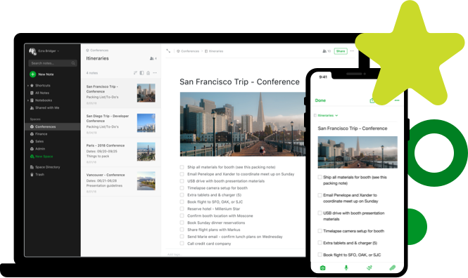 evernote is the best!