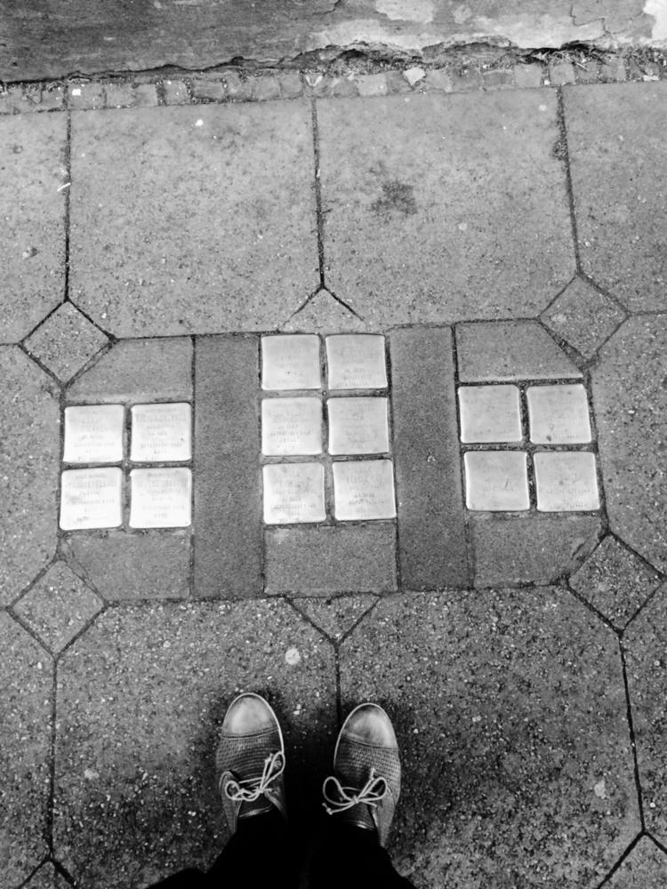 Stolpersteine in Köln    Photo: Christine Schoefer