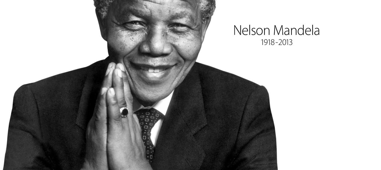 Nelson Mandela Apple Tribute Hero