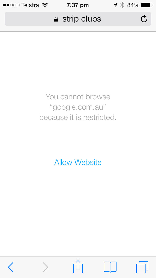 Site Restricted