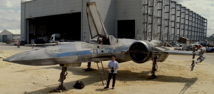 Star Wars Force for Change JJ Abrams first look  X Wing Fighter Star Wars 2015