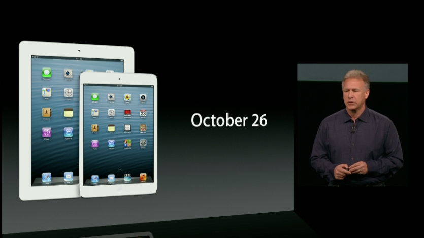 iPad Mini unveiled at Apple Media Event