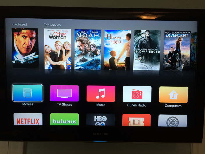 Apple TV iOS Beta new icons