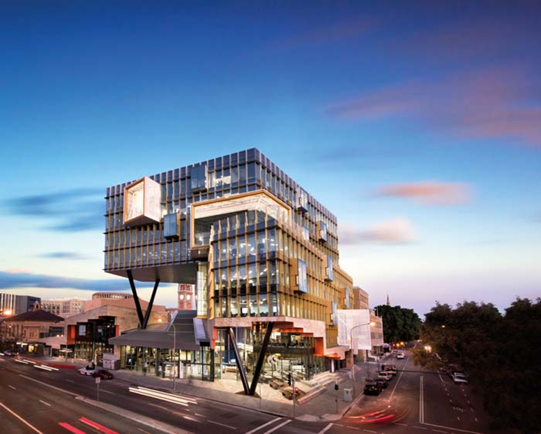 The iconic NeW Space is a $95 million landmark education precinct in the heart of Newcastle's CBD