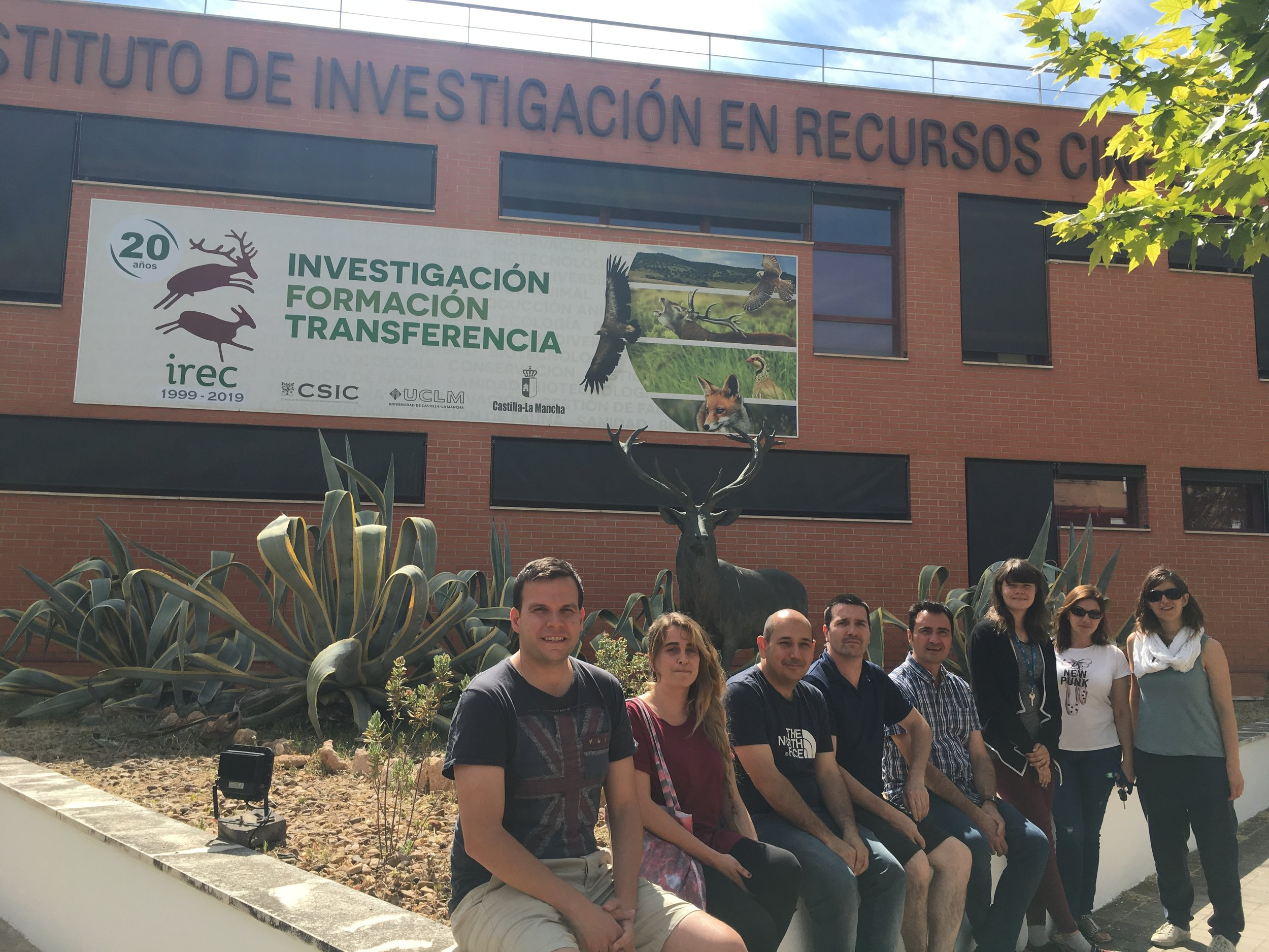 Ecotoxicology team at IREC