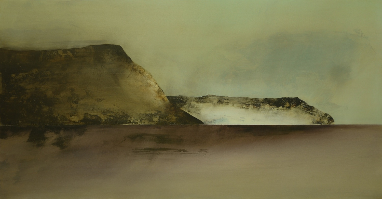 Impermanence  , 2013, acrylic on canvas, 103 x 197cm