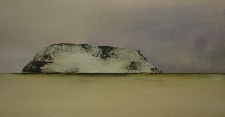 Whisper, Breathe  , 2013, acrylic on canvas, 103 x 197cm