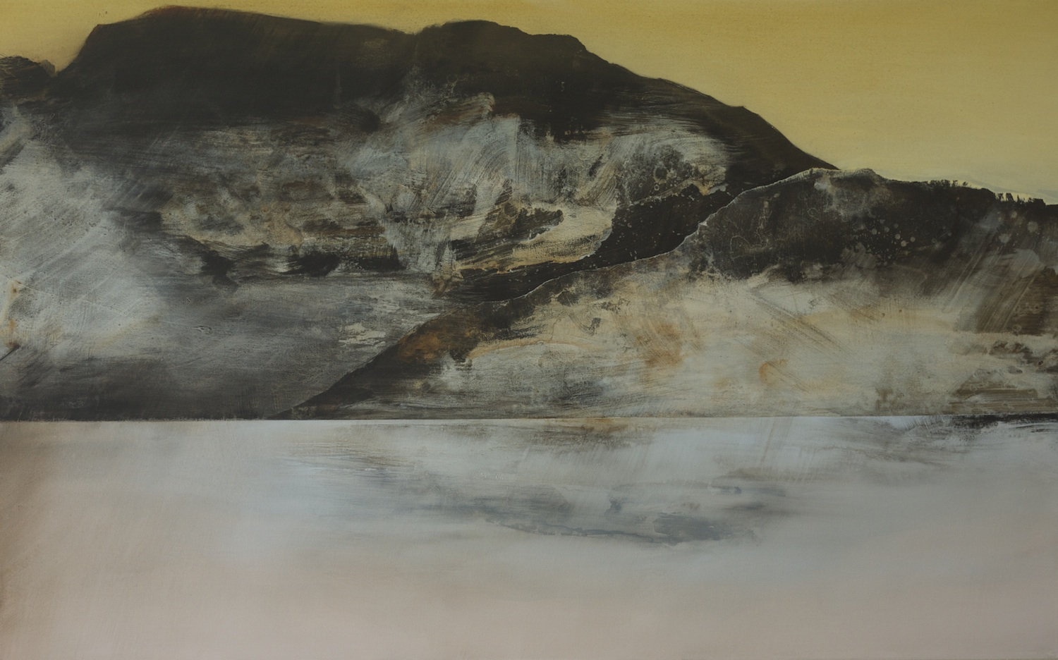 In Solitude  , 2012, acrylic on canvas, 103 x 166cm