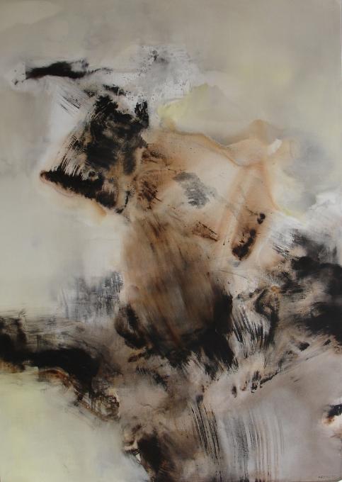 Still Waters Under the Bridge  , 2007, acrylic on canvas, 180x 130cm