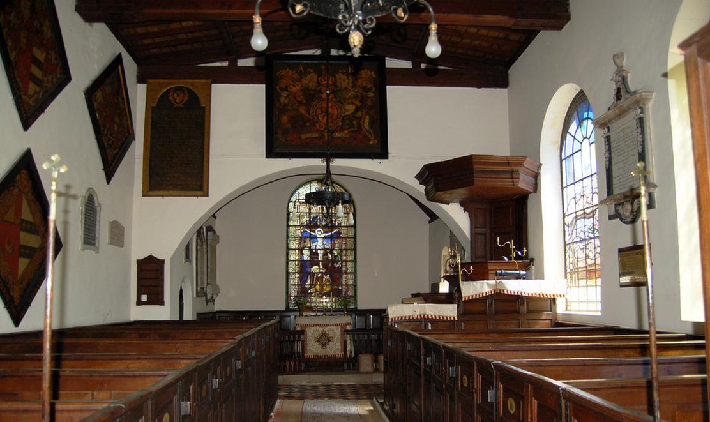 Trusley Church. Built in 1712