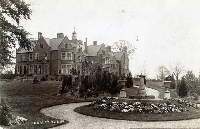 Trusley Manor as originally built