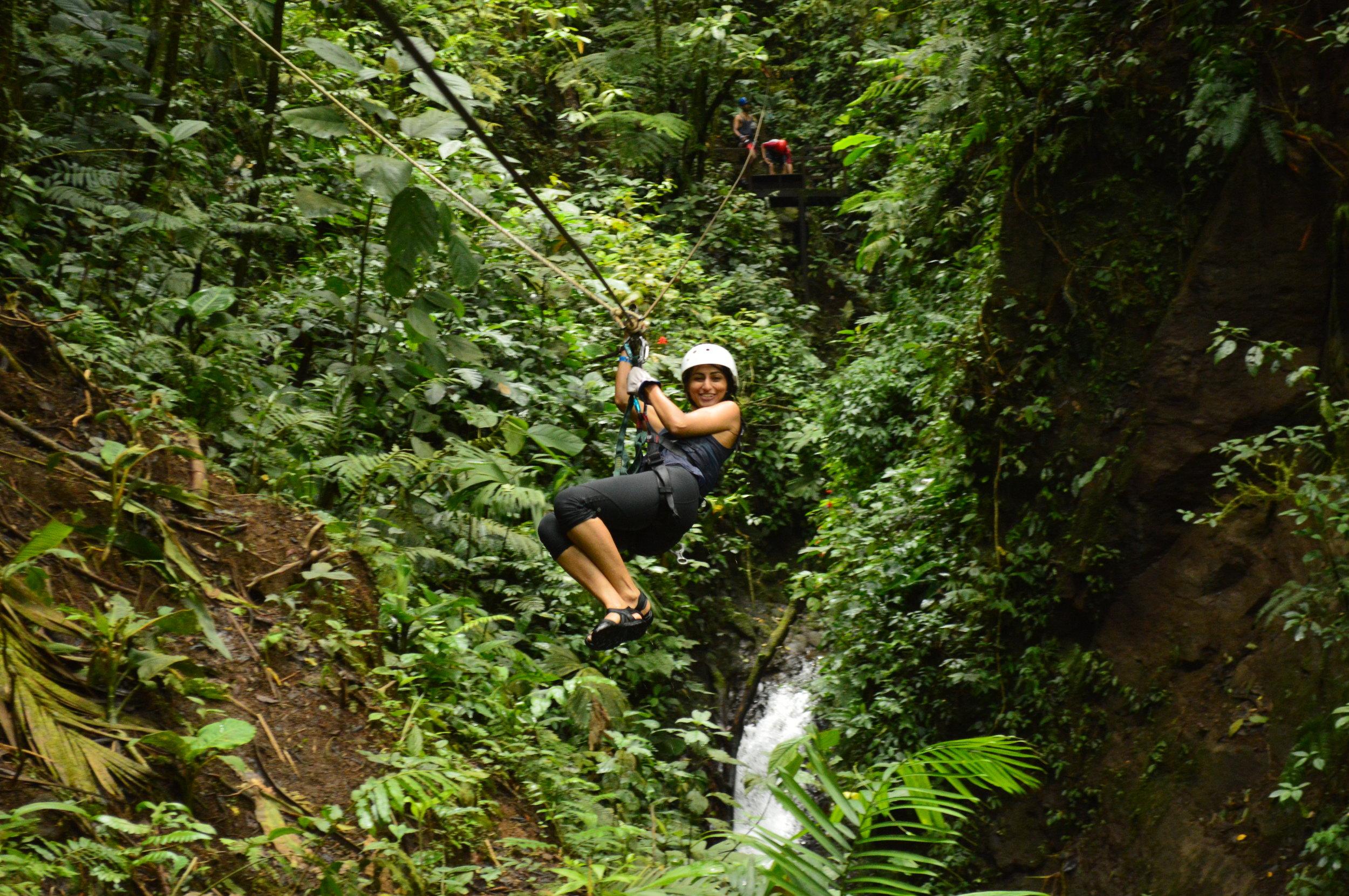 R: More ziplining!