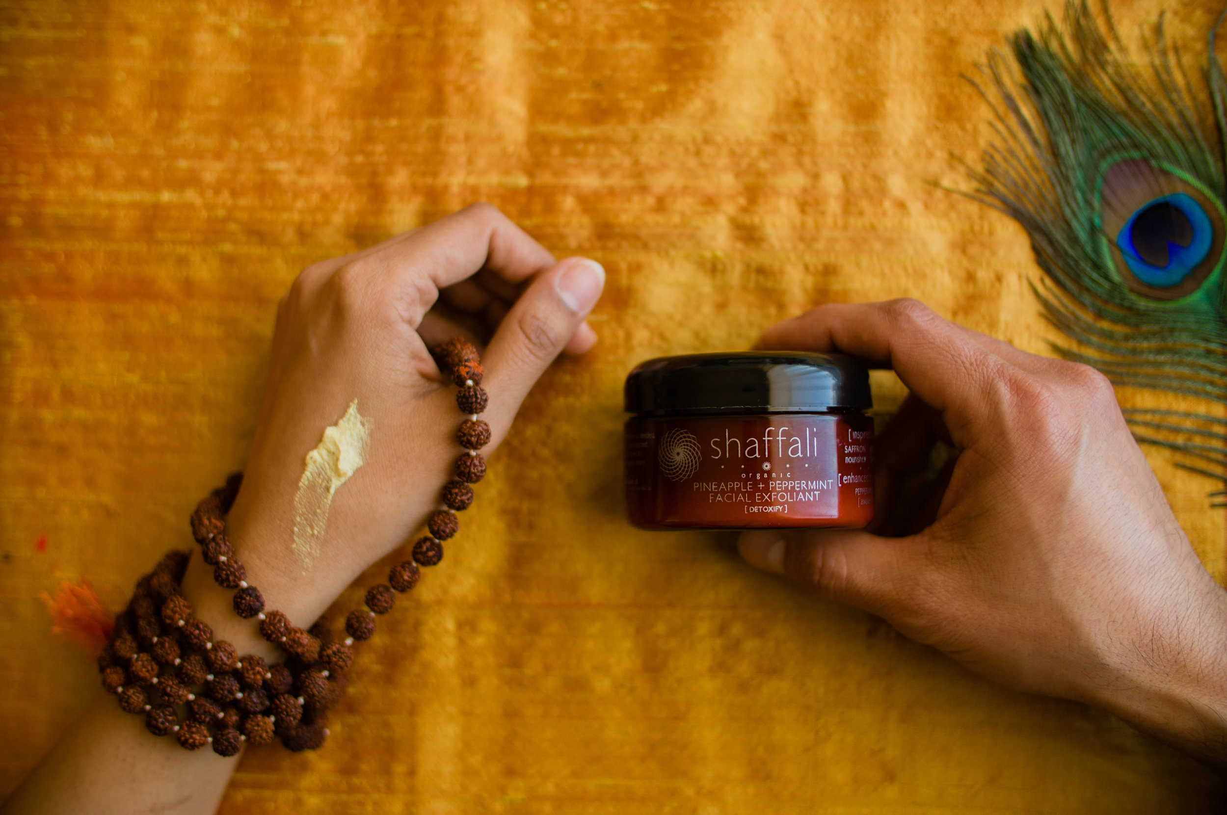 Inspired by Ayurveda.Enhanced with Aromatherapy.Experienced as Ritual. -