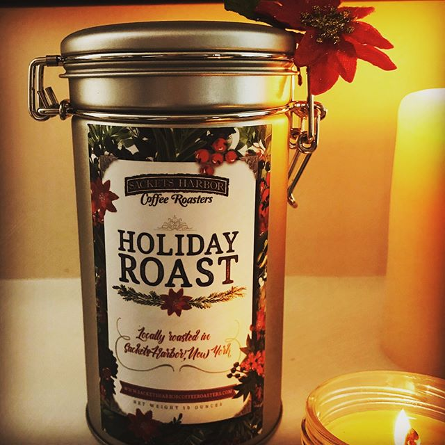 Holiday Roast available at: The Cheese Store, Sackets Harbor Country Mart, Calla Lillies, Europe Cakes, Vito's Gourmet, and Farmhouse Maple!  Happy Holiday, Friends!
