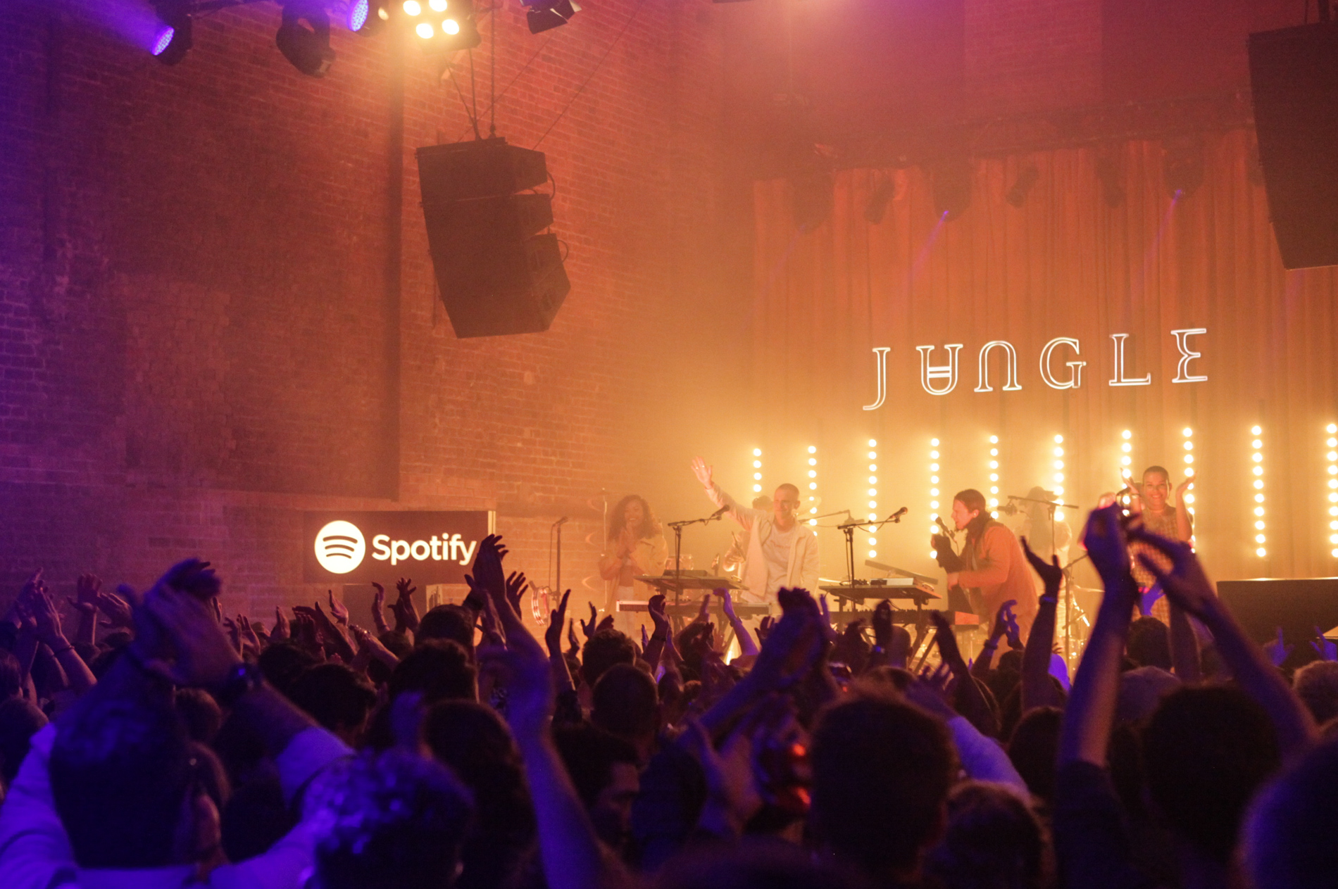 Spotify album launch for Jungle