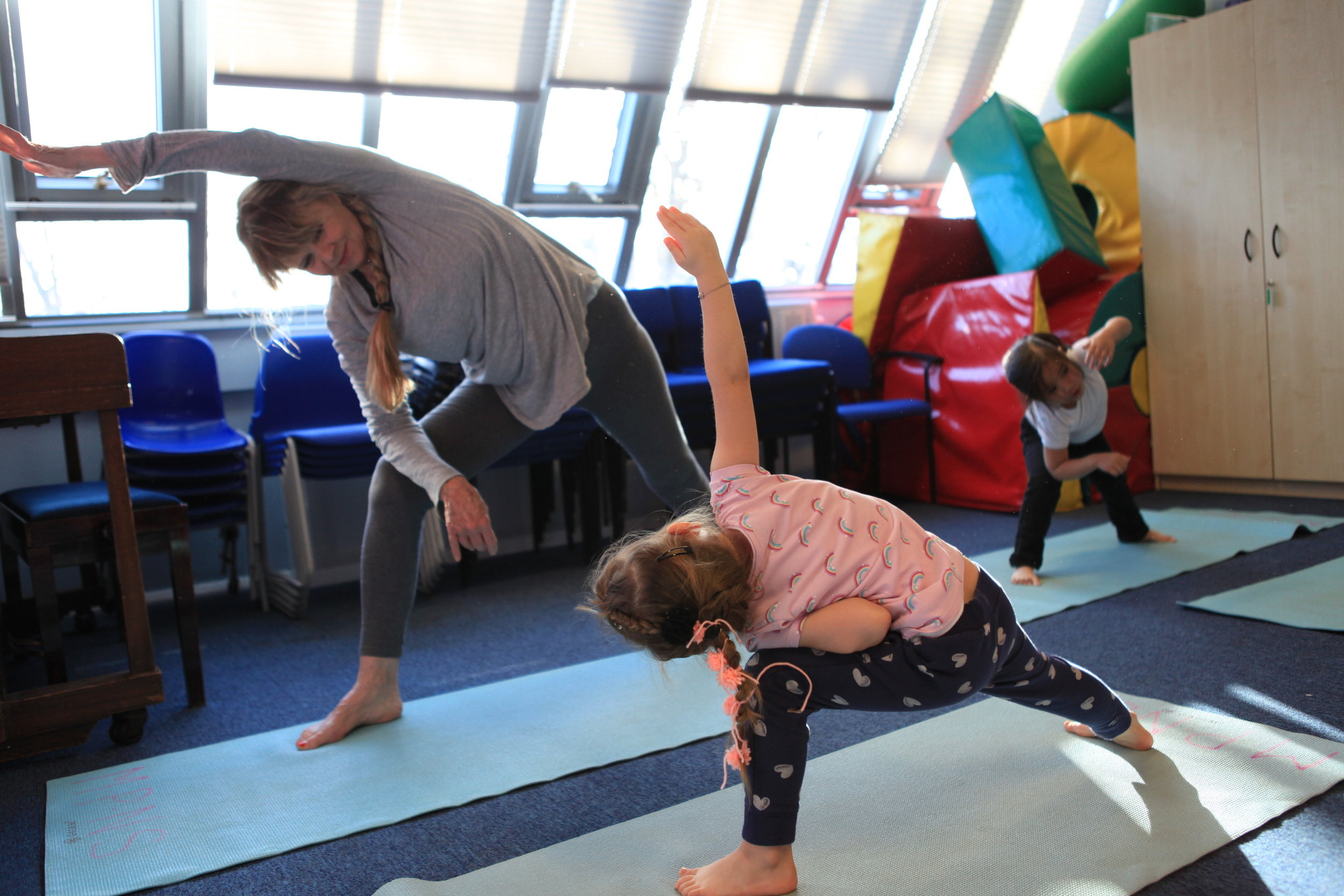Queens Park School Yoga