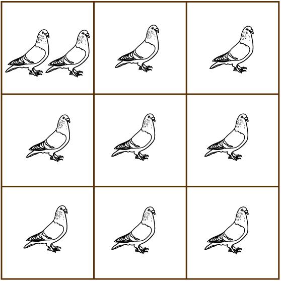 Quantum Pigeon Hole