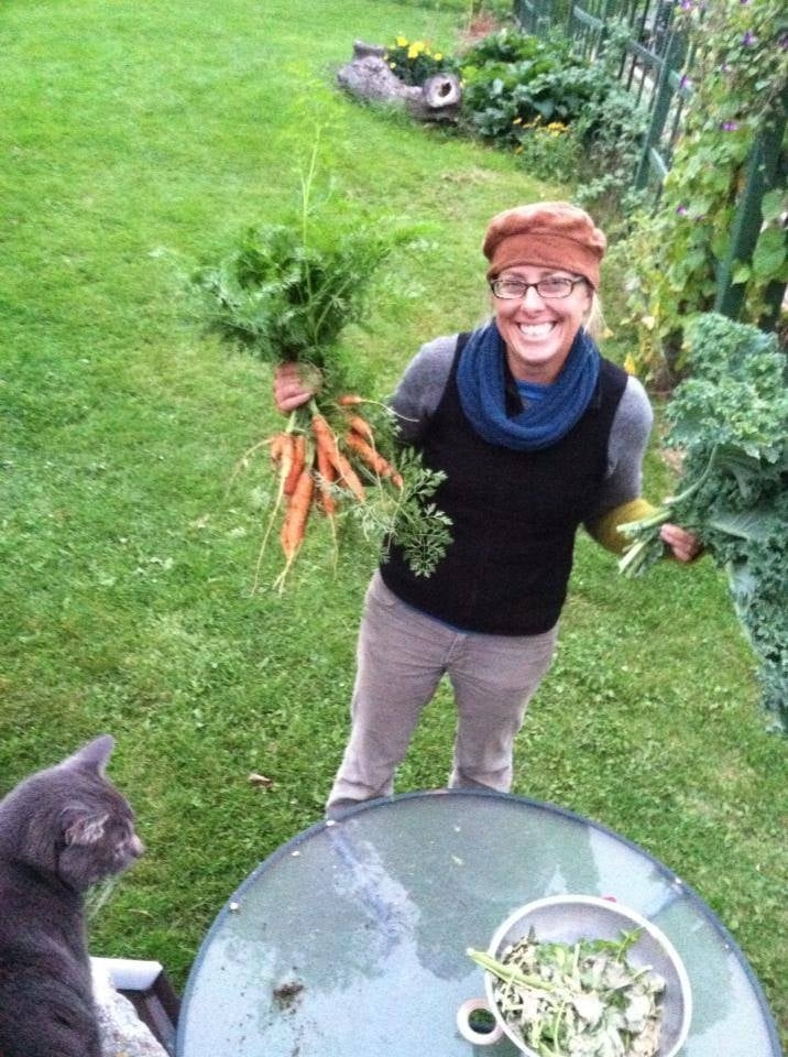 Heide with a carrot harvest