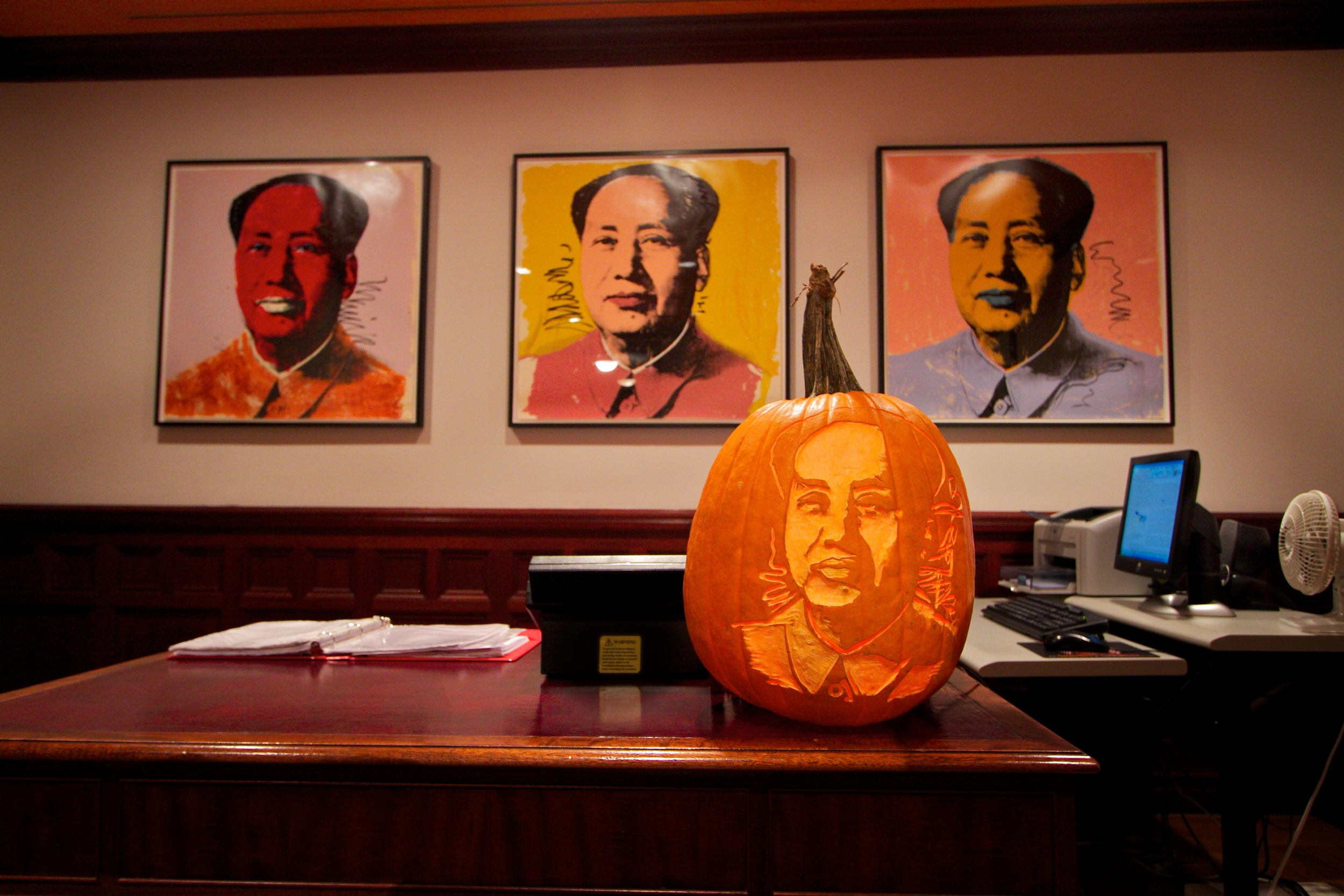 Warhol's Mao for Peter Brandt/Interview Mag