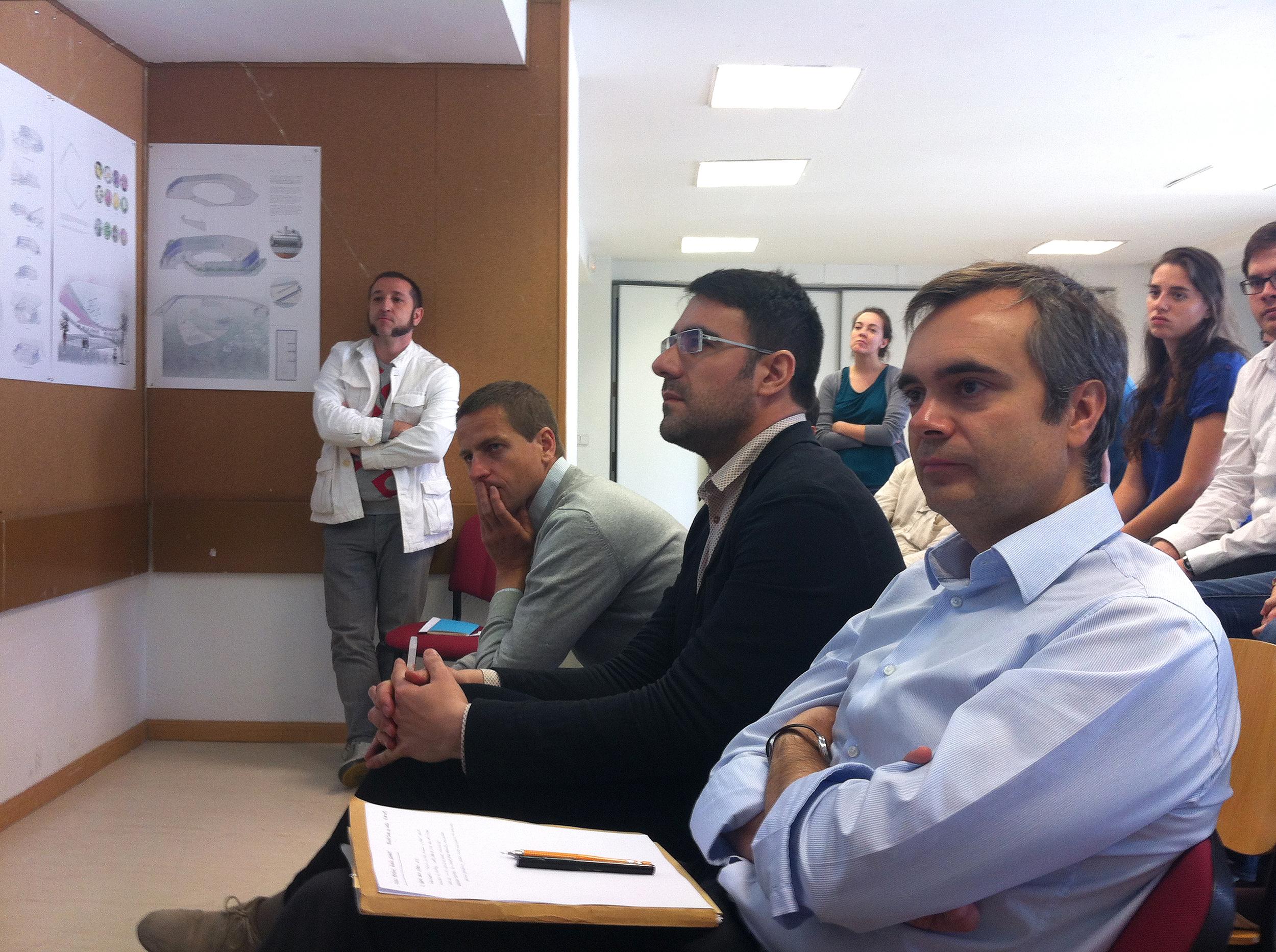 Final Review. UPSAM Madrid, Spain. June 2013. Fernando Pino, Daniel Gimeno, Jesús Donaire, Israel Alba.