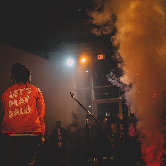 coaches jacket holds racks from shows I came back ferocious...💨