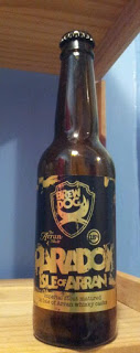 We also try the other end of the ABV spectrum with Brewdog's sumptuous Paradox Isle of Arran.