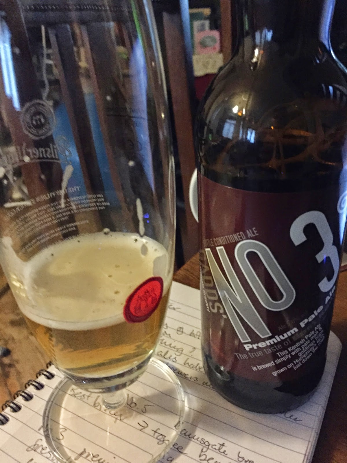 Gadds' No 3 pale ale (5%)