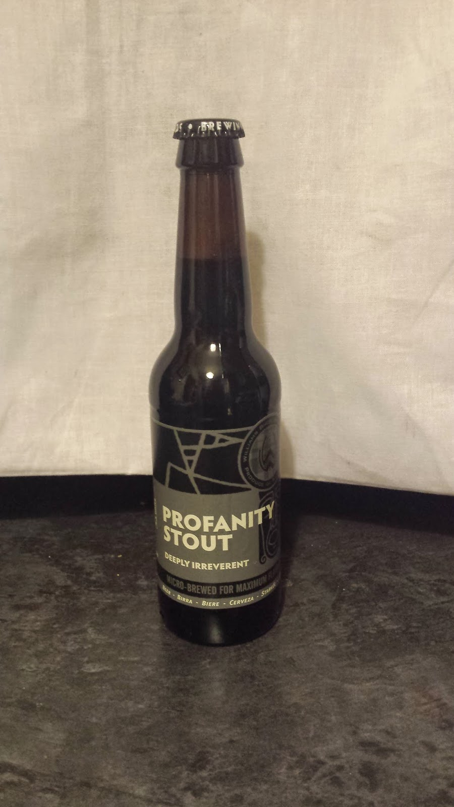 Williams Bros Profanity Stout   (7%)