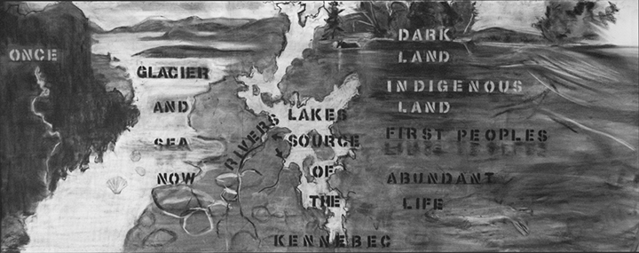 River Stories: a History of the Kennebec River first section, the deep past.