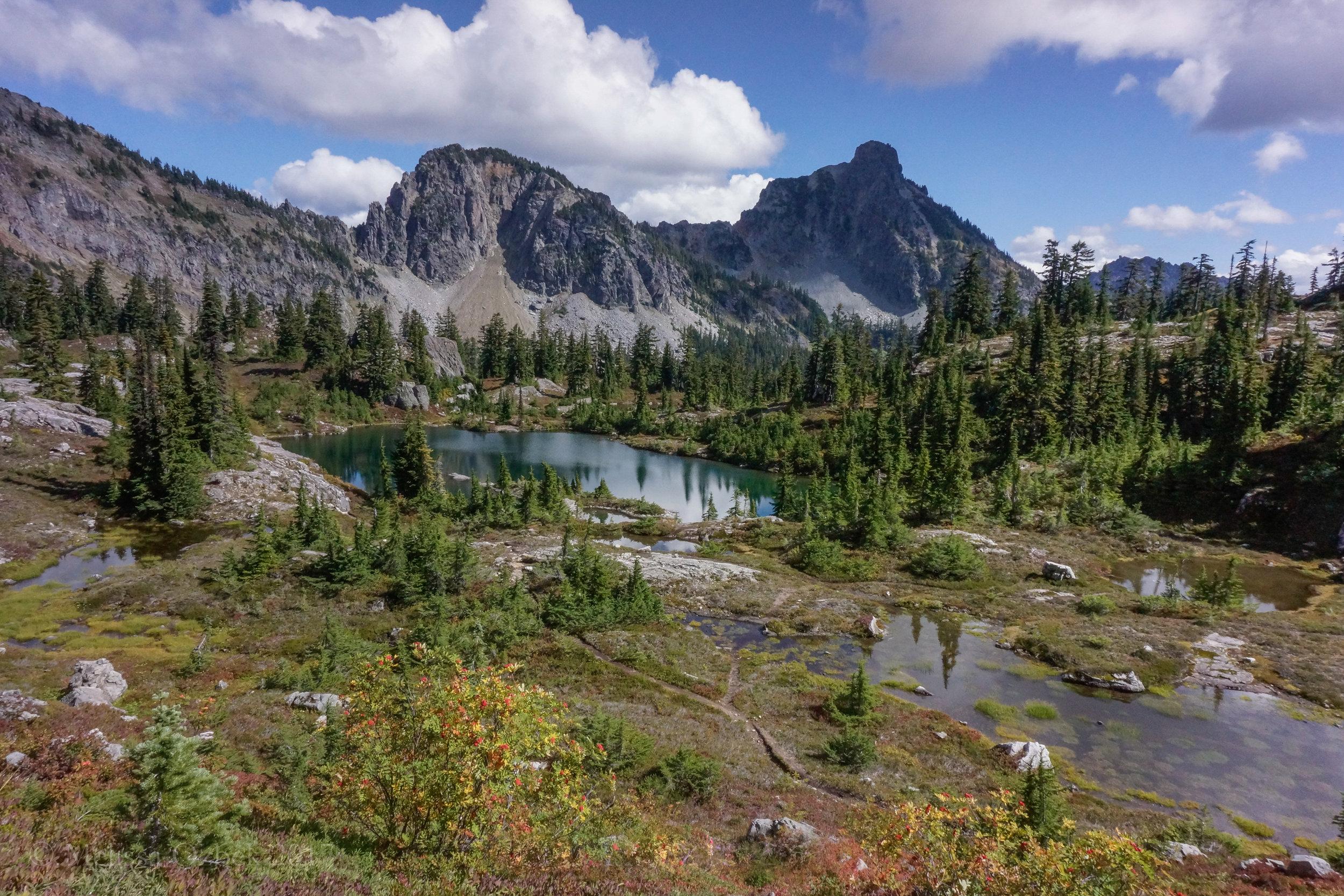 18. Lila Lake, an optional side trip from Rachel Lake