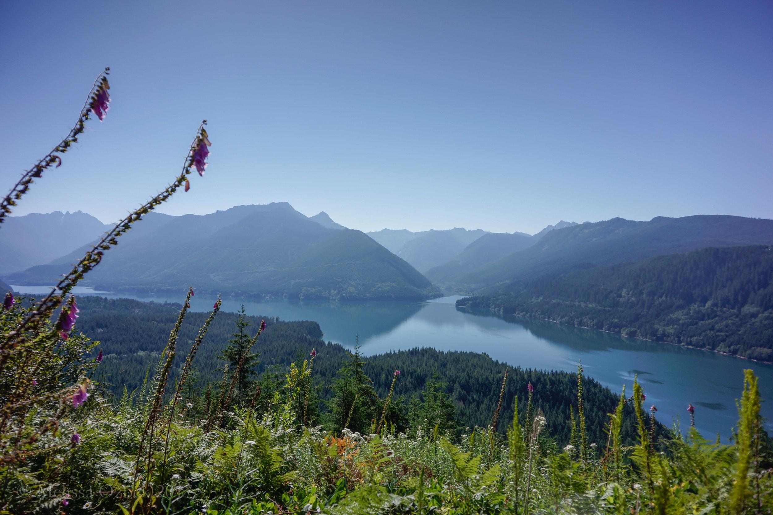 1. Spada Lake Overlook