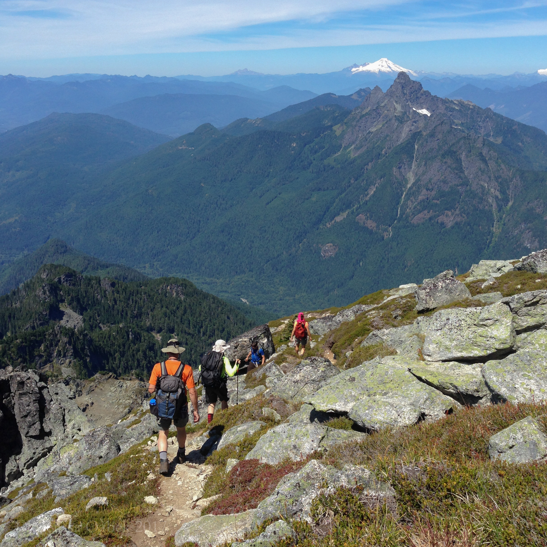 12. Mount Pugh via Stujack Pass