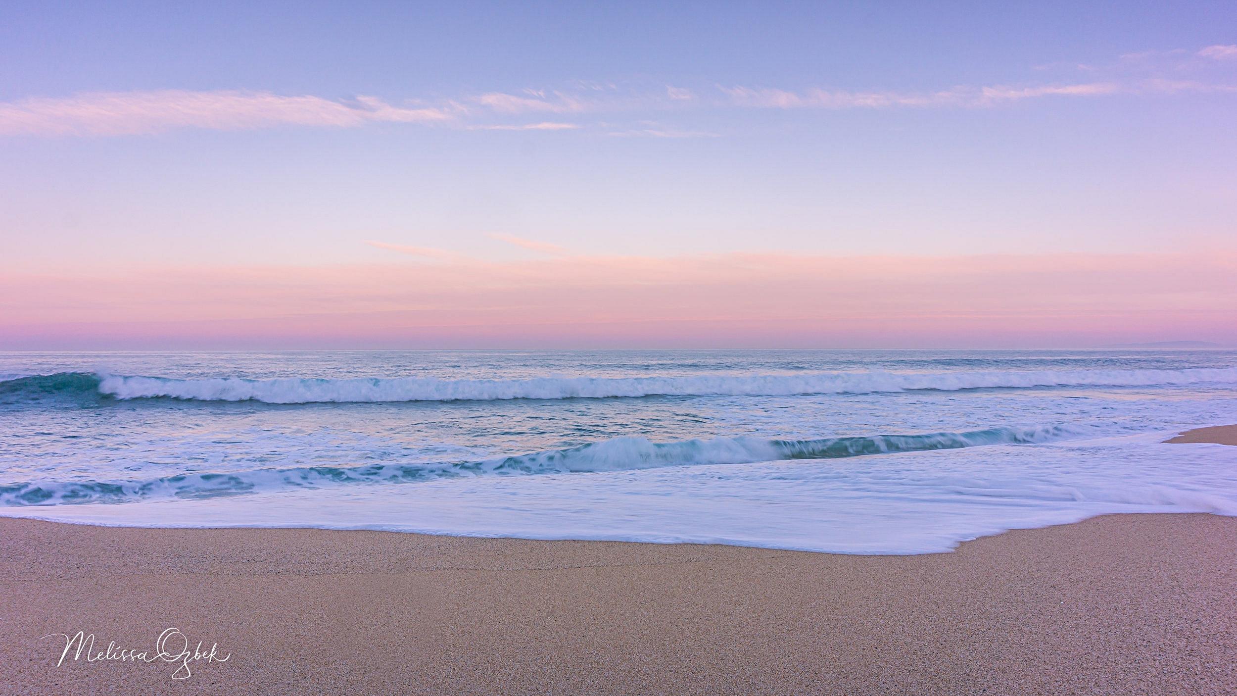 Sunrise at Montara Beach, Valentine's Day 2018